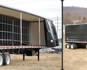 Curtain Side Trailer Trailers Specialized Trailers